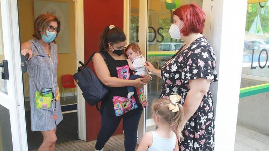 Comienzan los periodos de adaptación para niños y padres en las guarderías