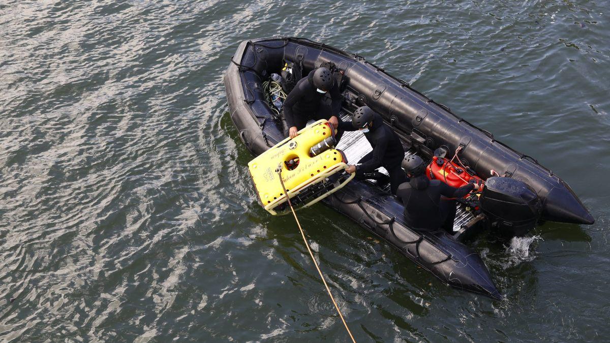 El Ejército usó un robot en la búsqueda.