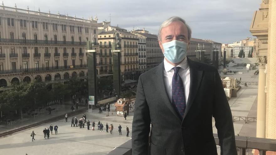 El alcalde de Zaragoza, positivo en COVID-19