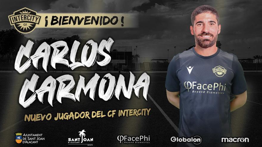 Carmona, del Sporting al Intercity de la Segunda RFEF
