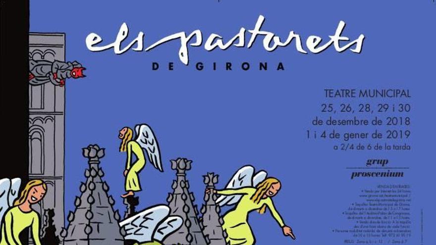 El cartell dels Pastorets de Girona causa rebombori