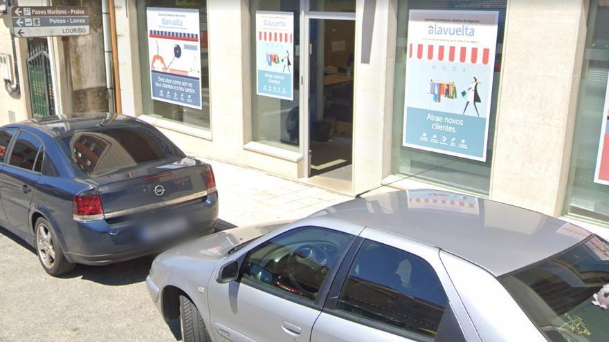 Campelo, en Poio: otra sucursal bancaria que desaparece