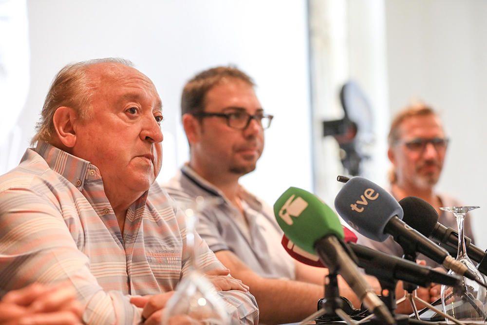 Héctor Escandell comienza a rodar ´Incestum´ con Fernando Esteso en Ibiza