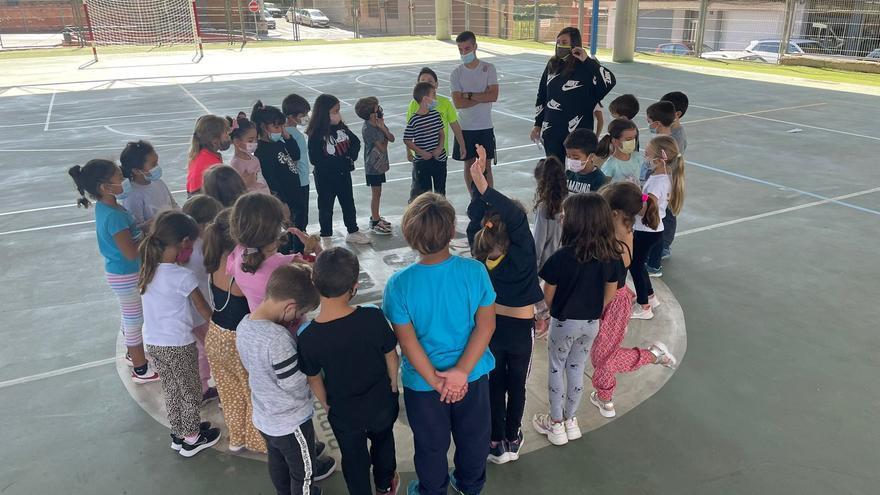 Una cinquantena d'infants de Sant Fruitós prenen part en el projecte Som Esport