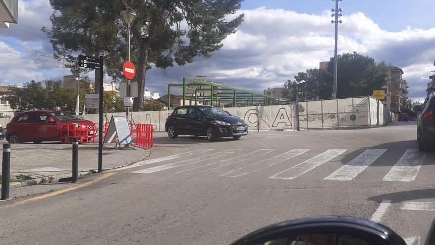 Las obras de la Plaça Mallorca de Inca motivan una profunda reforma circulatoria