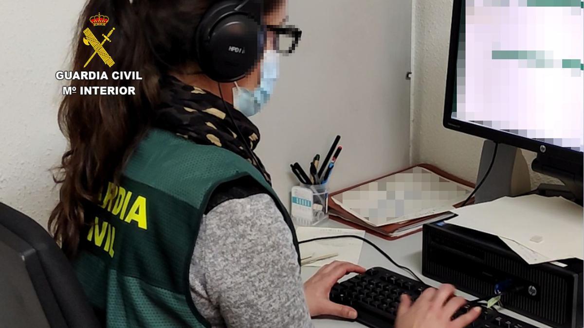 Guardia Civil investiga la estafa por Internet