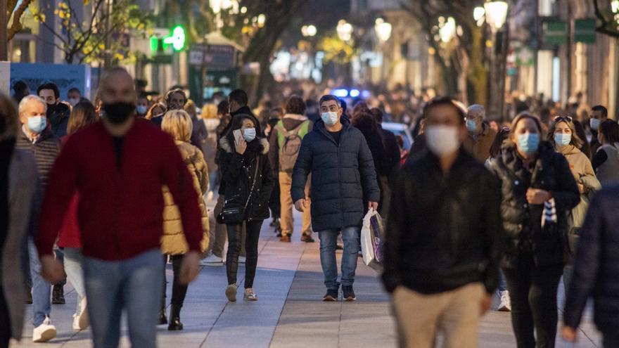 El 'Viernes Negro' devuelve la sonrisa al comercio de Ourense
