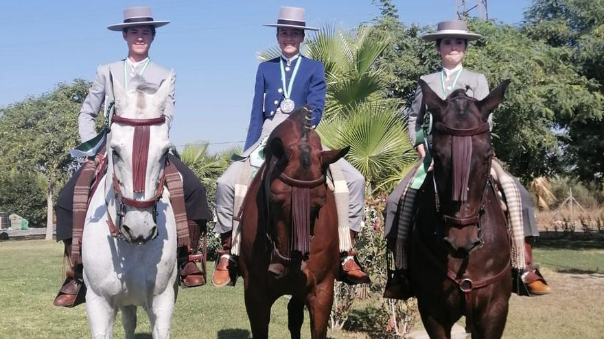 Triple medalla para los jóvenes cordobeses