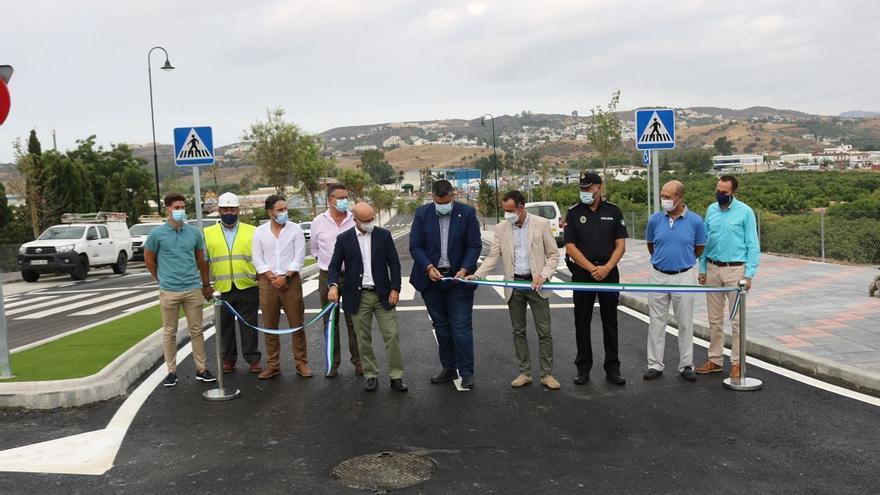 Mijas abre al tráfico el nuevo vial que une la avenida Miguel Hernández con el Camino de Coín