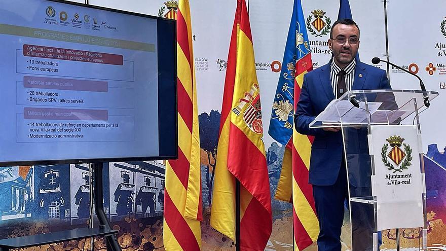 Vila-real contratará este año a 136 vecinos con 2,3 millones de inversión