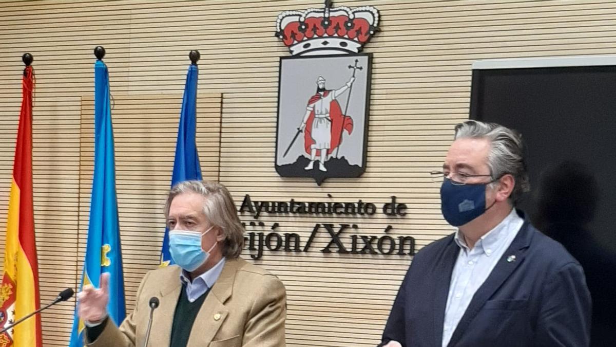 Por la izquierda, Alberto López-Asenjo y Pablo González.