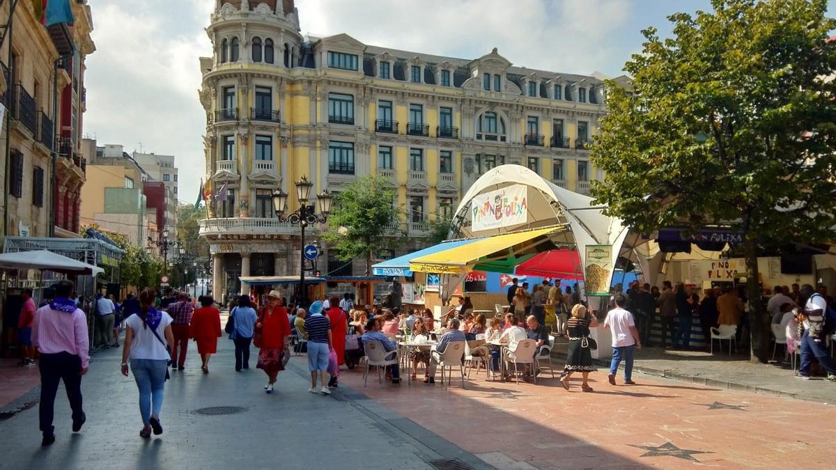 Archivo - Fiestas de San Mateo en Oviedo.