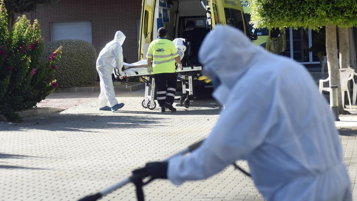 La Región supera el millar de fallecidos por coronavirus con 22 muertes más