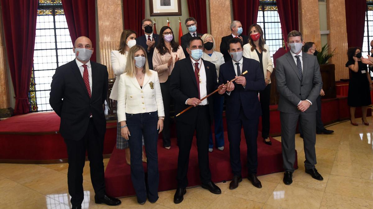 Moción de censura en el Ayuntamiento de Murcia