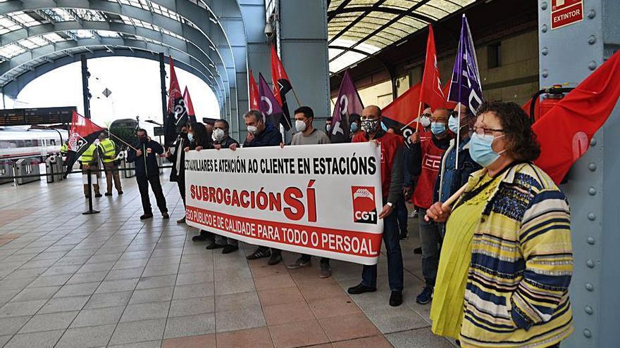 CCOO exige que se mantenga el empleo en Renfe