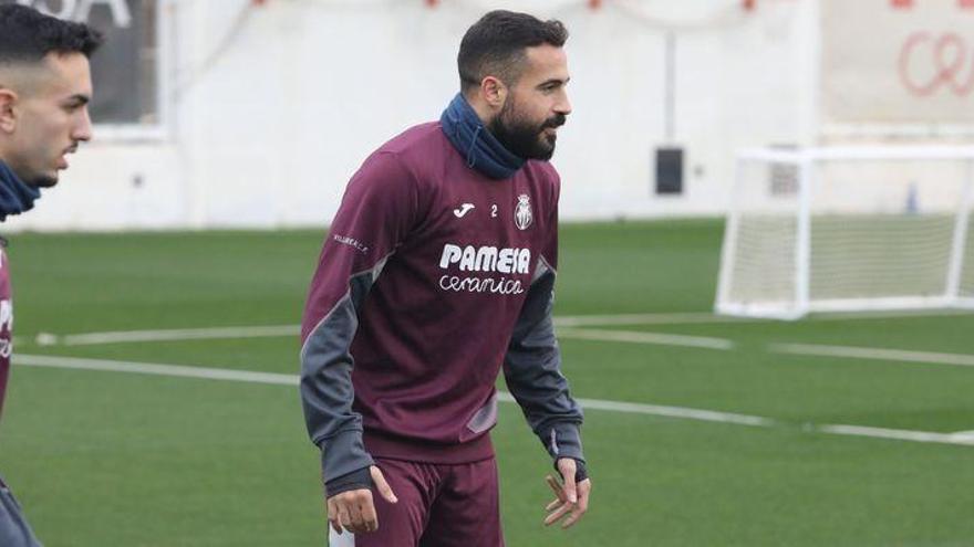 Mario tendrá que jugar contra el Atlético con una protección