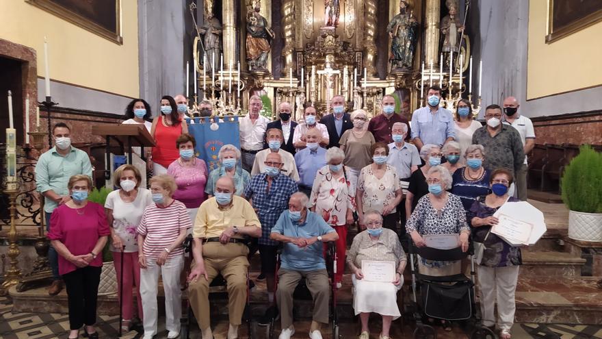 Sóller rinde homenaje a sus ancianos y entrega el Reconeixement de Mèrits