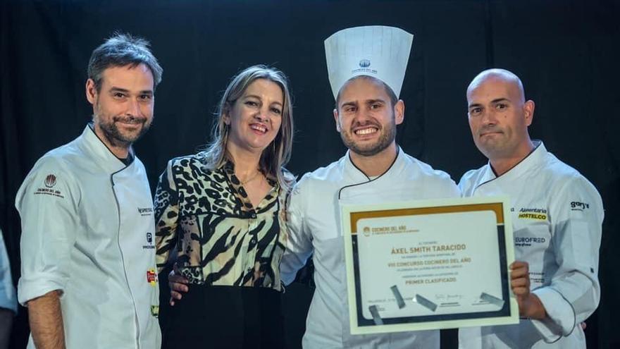 Raúl Resino forma parte del jurado de la semifinal del concurso Cocinero del Año