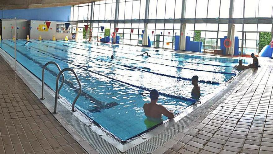 La piscina de A Ramallosa recobra el ritmo