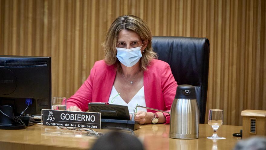 """Ribera afirma que el Mar Menor """"no admite"""" más desarrollo urbanístico ni agrícola"""