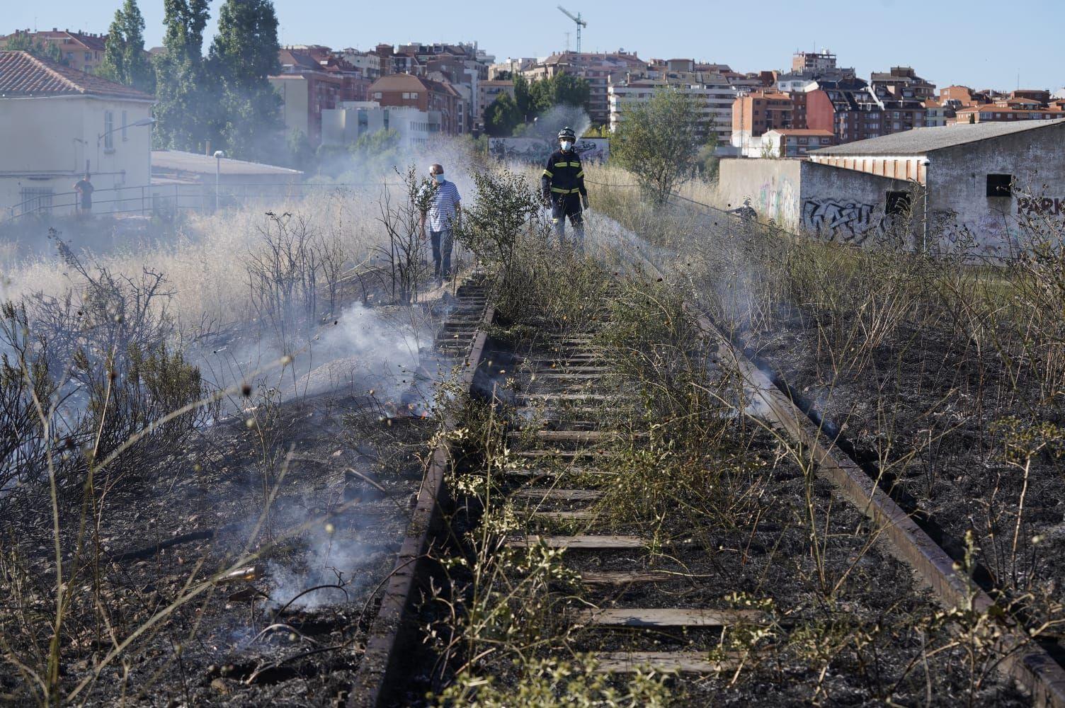 Incendio en Zamora.