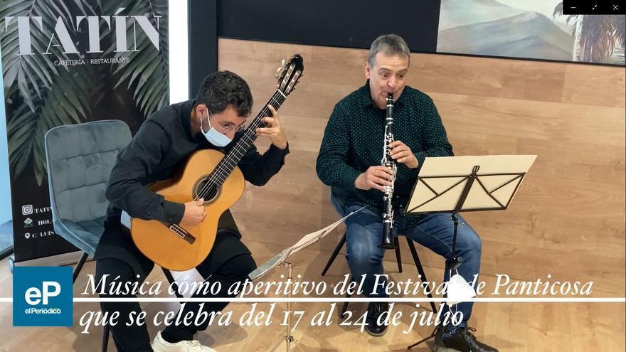 Música como aperitivo del Festival de Panticosa
