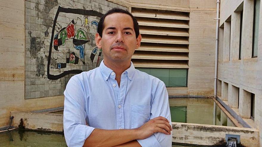 Alex Ceball, candidato a presidir una Associació d'Artistes Visuals que lleva medio año descabezada
