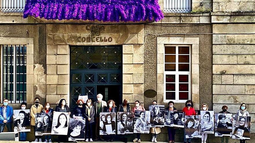 """Caldas presenta la campaña """"Mulleres da vila"""" en homenaje a las emprendedoras"""