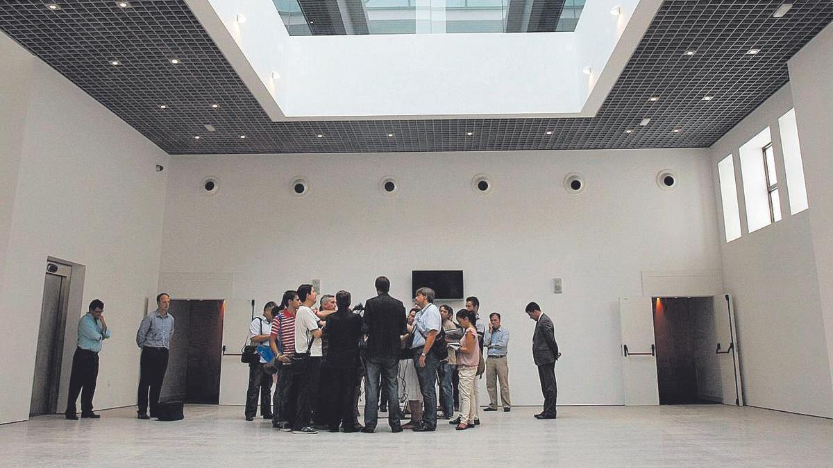 Museo de las Gemas en Tabacalera, un espacio que jamás llegó a operar.