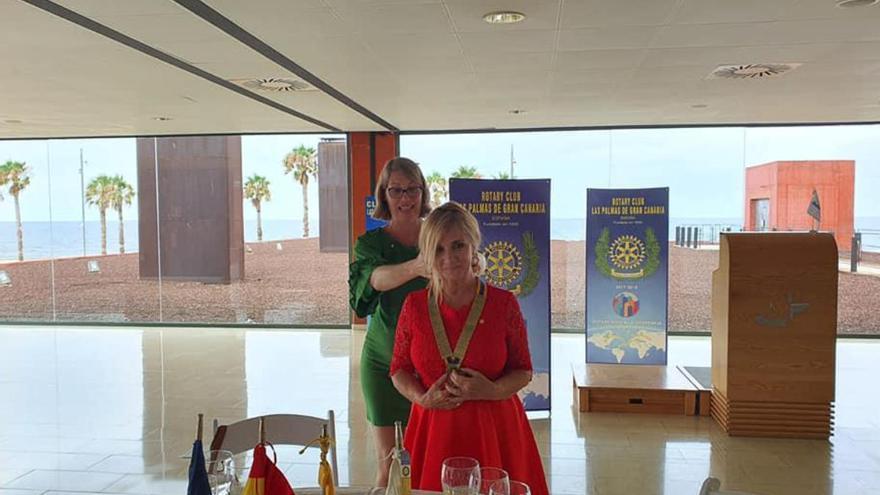 Eloísa Moreno, nueva presidenta del Rotary Club de Las Palmas de Gran Canaria
