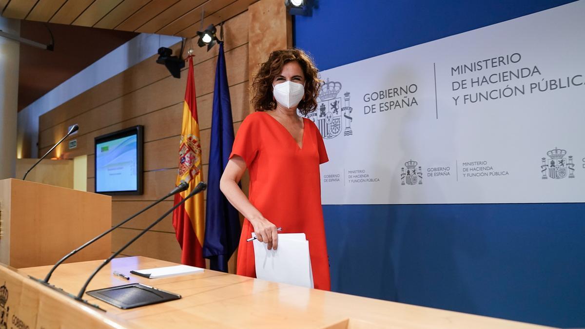 Imagen de archivo de la ministra de Hacienda y Función Pública, Maria Jesús Montero.