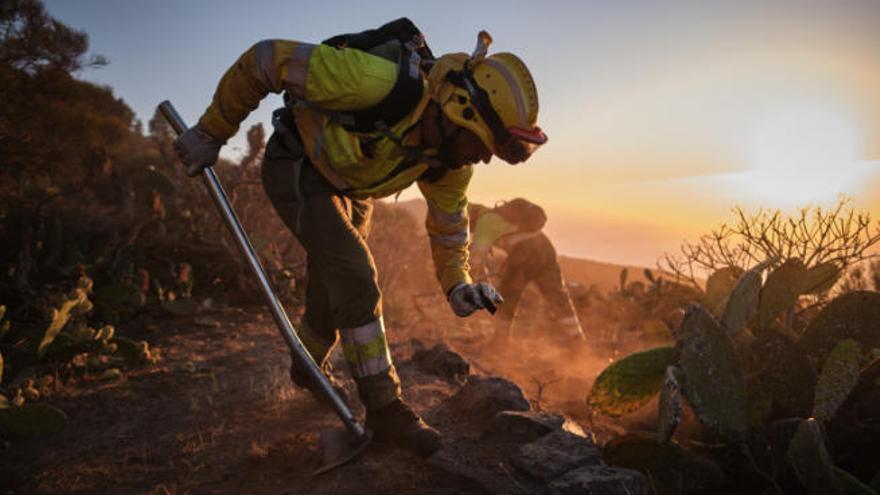 El incendio de Garafía saca a la luz a los residentes irregulares en suelo protegido