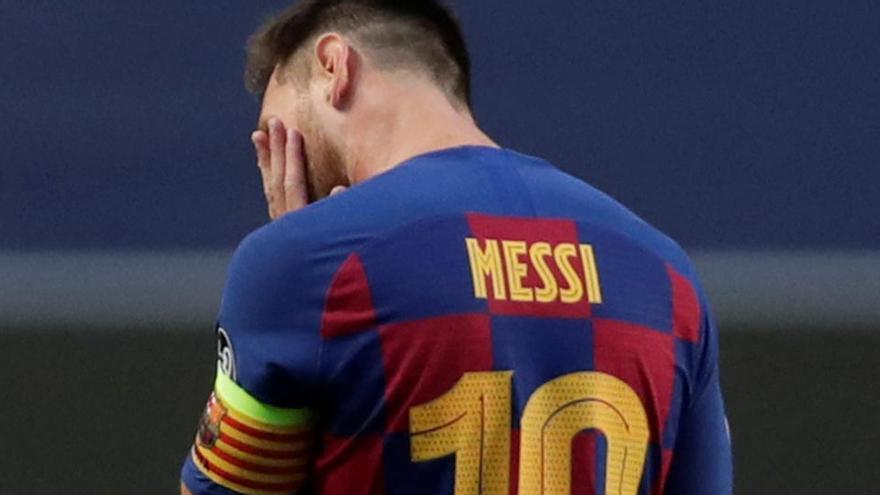 Messi se tiene que ir