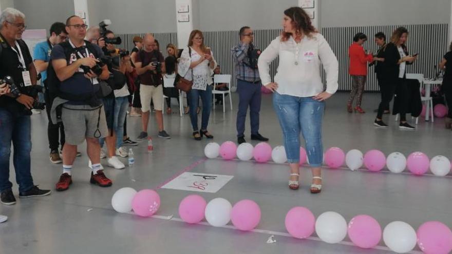 Más de 300 mujeres luchan contra los clásicos cánones de belleza hoy en Alicante
