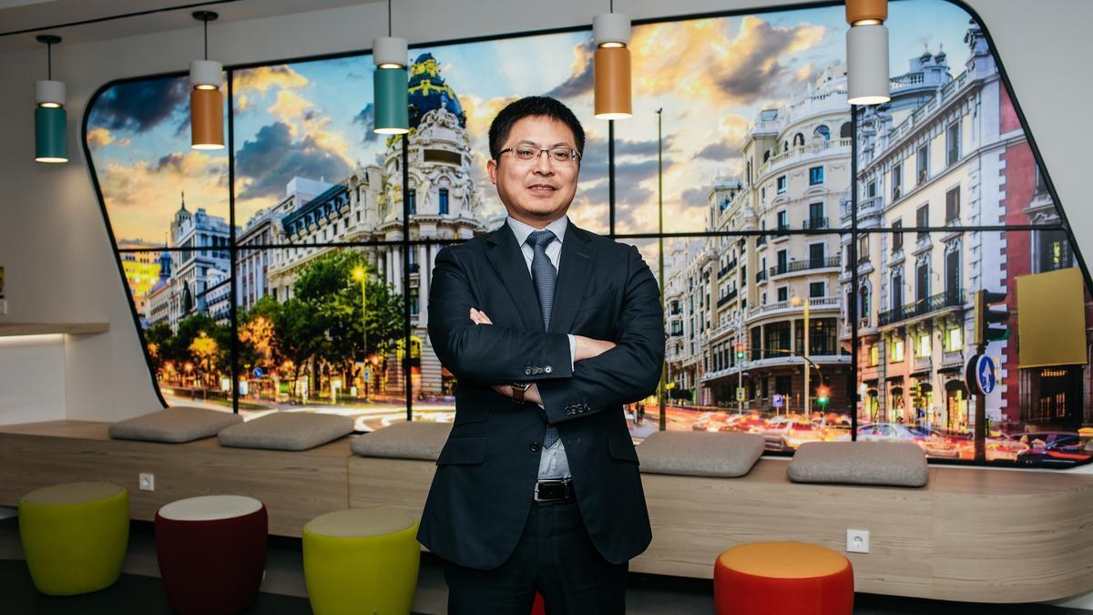 Tony Jin Yong, CEO Huawei España