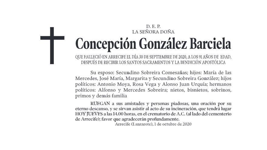 Concepción González Barciela
