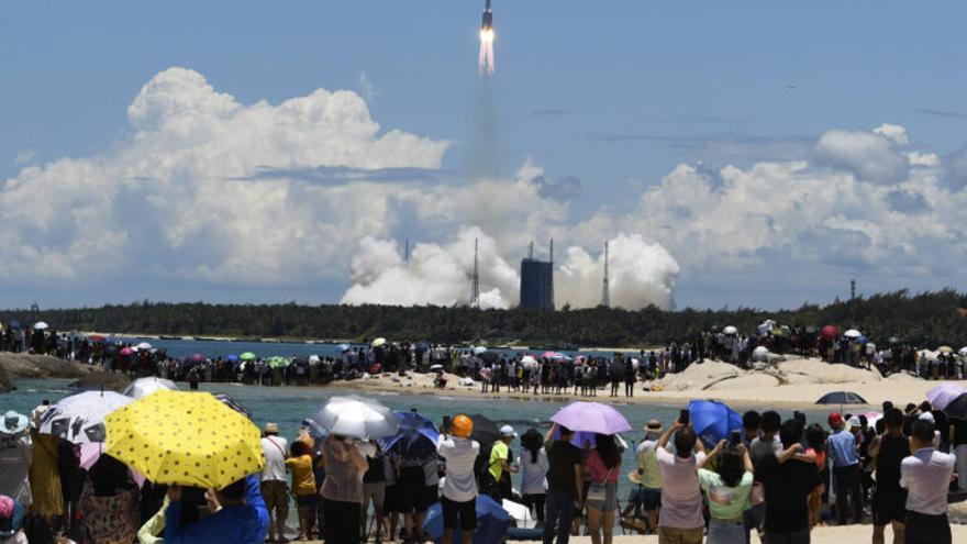 China ya está en Marte y se posiciona como potencia en el espacio