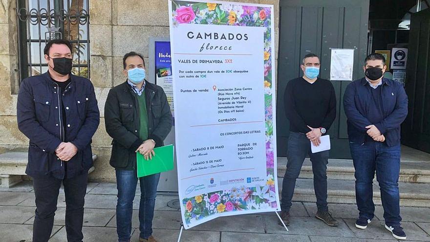 El Concello de Cambados lanza una campaña integral para reactivar la hostelería y el comercio