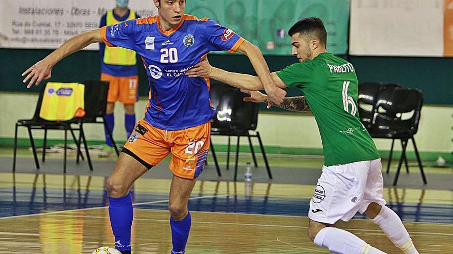 El Sala Ourense rompe la racha de victorias del Ribeira y gana en casa