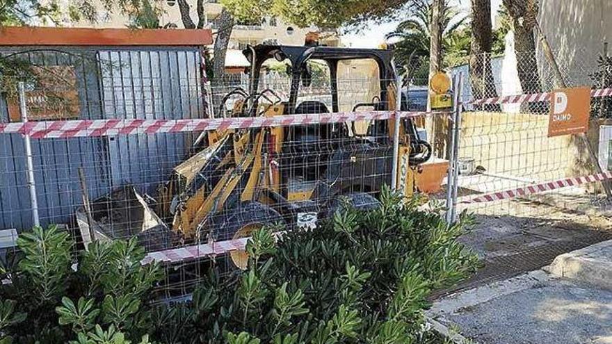 Küstenbehörde stoppt Bauarbeiten an Promenade von Cala Ratjada