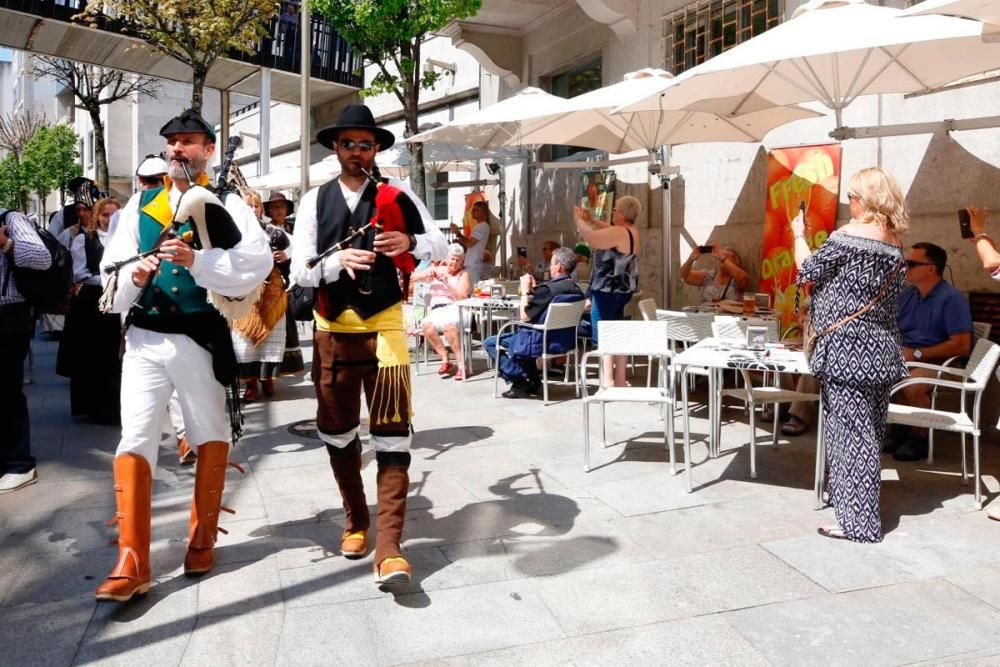 Vigo se prepara para expulsar a los franceses