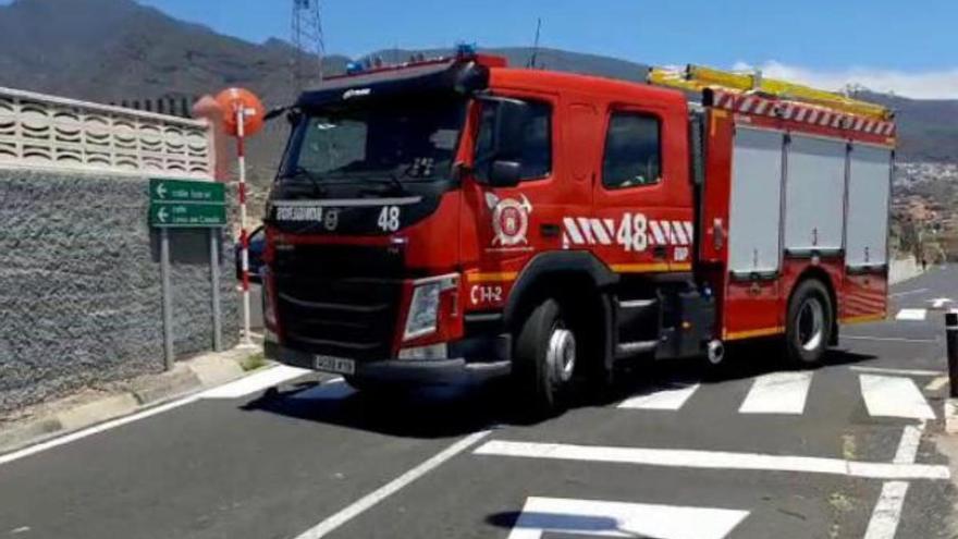 Bomberos de Tenerife extingue siete incendios el fin de semana