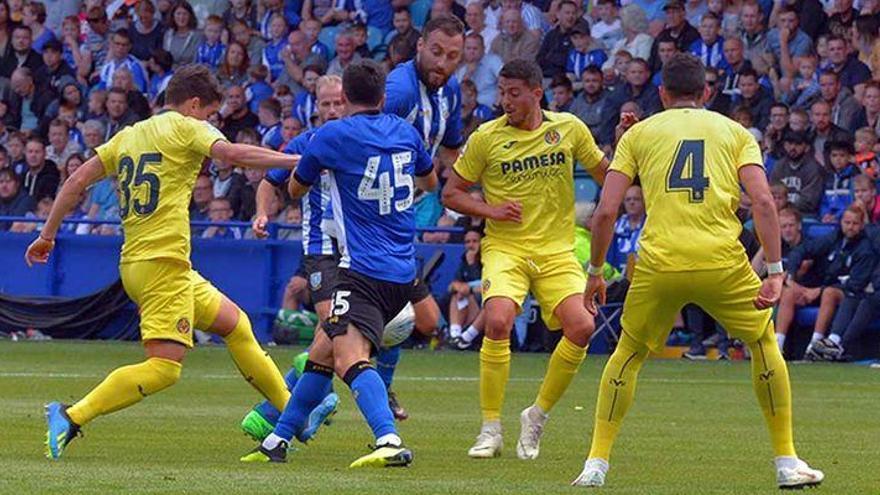 Triunfo aplastante del Villarreal ante el Sheffield Wednesday (1-3)