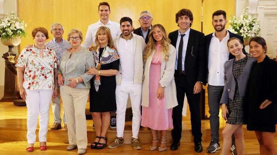 La hija de Patxi Salinas pasa por el altar en Vigo