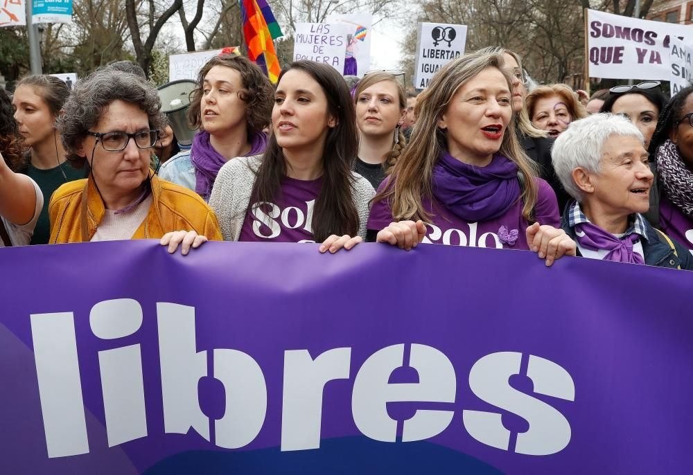 Manifestación del 8M en Madrid | Marzo