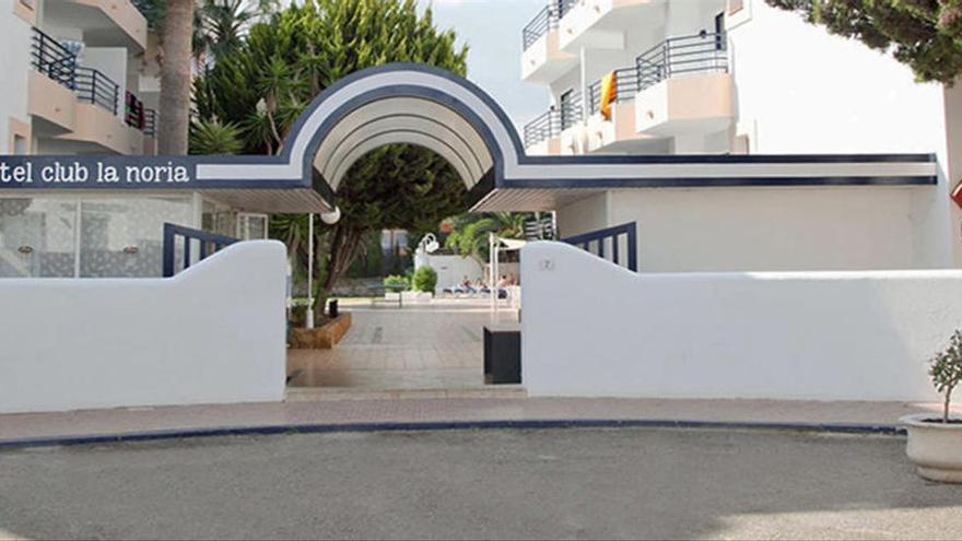 El hotel puente de Ibiza para acoger contagios de covid o contactos estrechos aloja a 12 personas