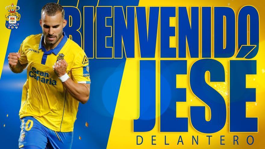Jesé vuelve a la UD Las Palmas