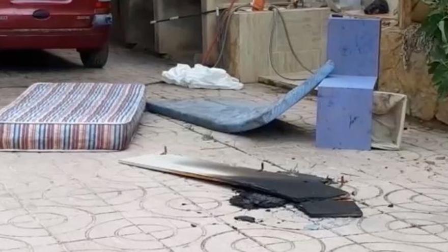 Muere una persona y otra resulta herida en el incendio de una vivienda en el camí la Plana