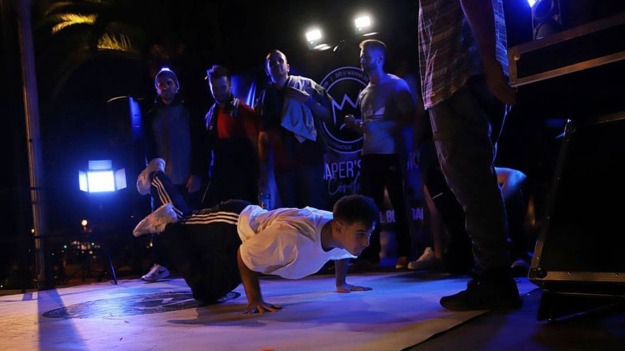 Iniciada la liga de danza urbana
