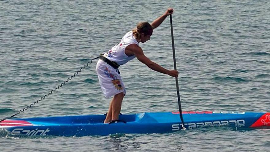 Iván de Frutos mantiene su idilio con el mar